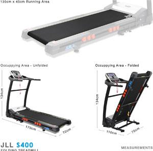 JLL S400 Premium Folding Treadmill