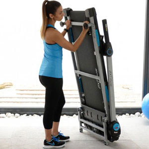 JTX Slim-Line Compact Folding Treadmill